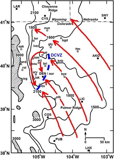 Colorado S Front Range Understanding Tornadogenesis In Relation To
