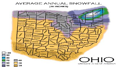 LakeEffect Snow Forecasting Lake Snow Amounts In Ohio