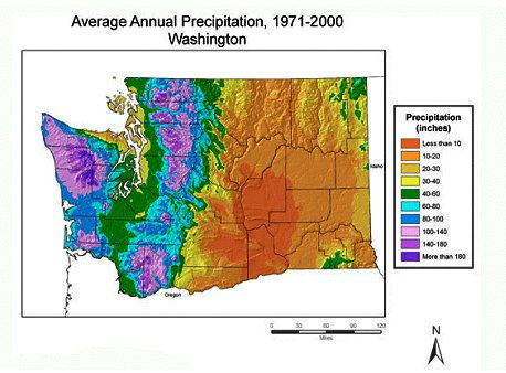 WET VS. DRY - SHEDDING SOME LIGHT ON THE PACIFIC NORTHWEST RAIN SHADOW
