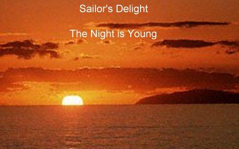 red sky in morning sailors warning